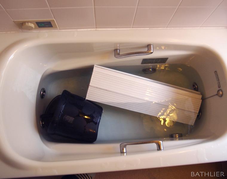 セスキ炭酸ソーダで簡単お風呂掃除。