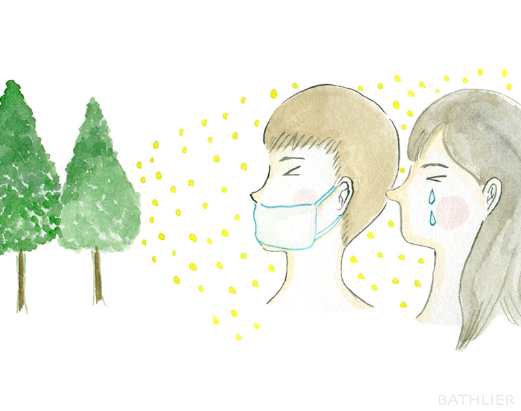 お風呂でできる!花粉症対策:鼻詰まり・目のかゆみ編